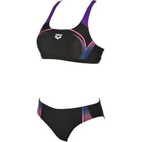 arena Modular Two-Pieces Swimsuit Damen black-paparazzi